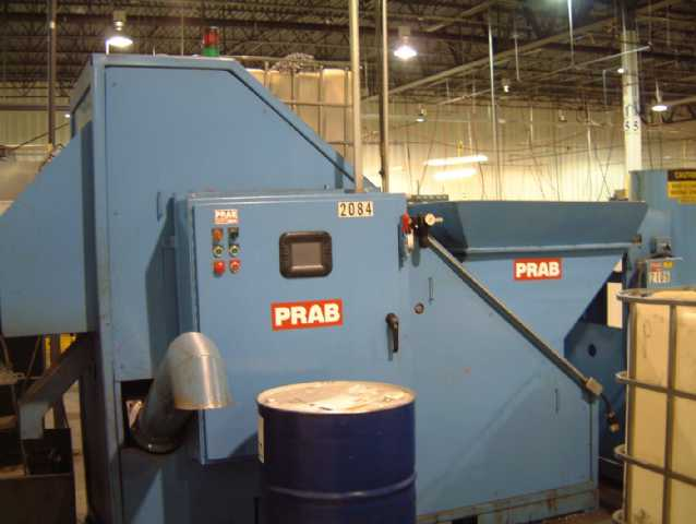 Prab Used Mini Chip Processing System Alan Ross Machinery
