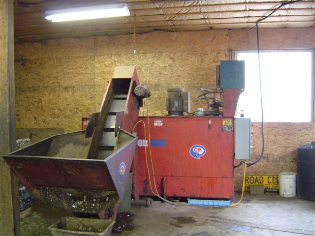 Cd 600 Used Cp Can Densifier With Conveyor Alan Ross