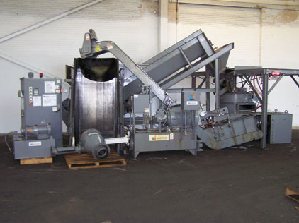 Mayfran Used Chip Processing Line With Shredder Alan