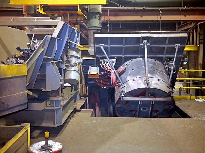 2500 Kw Used Inductotherm Induction Furnace System Alan
