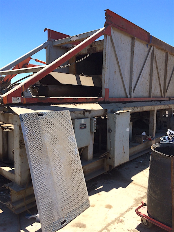 Acculoader Used Export Container Load System Alan Ross