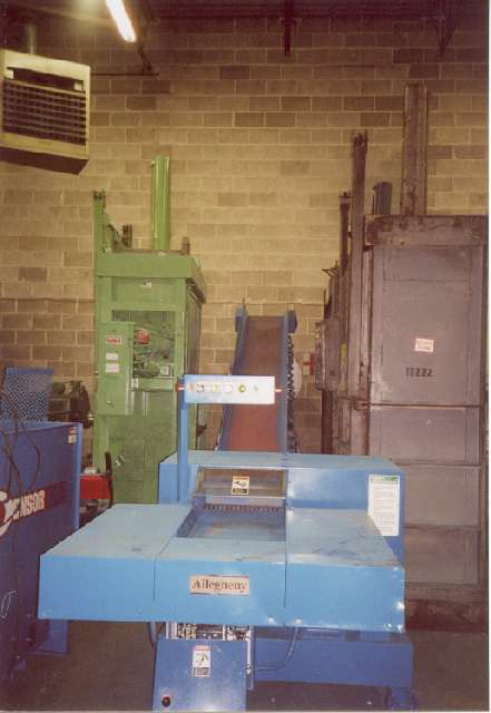 18 Quot Used Allegheny Confidential Paper Shredder With Baler