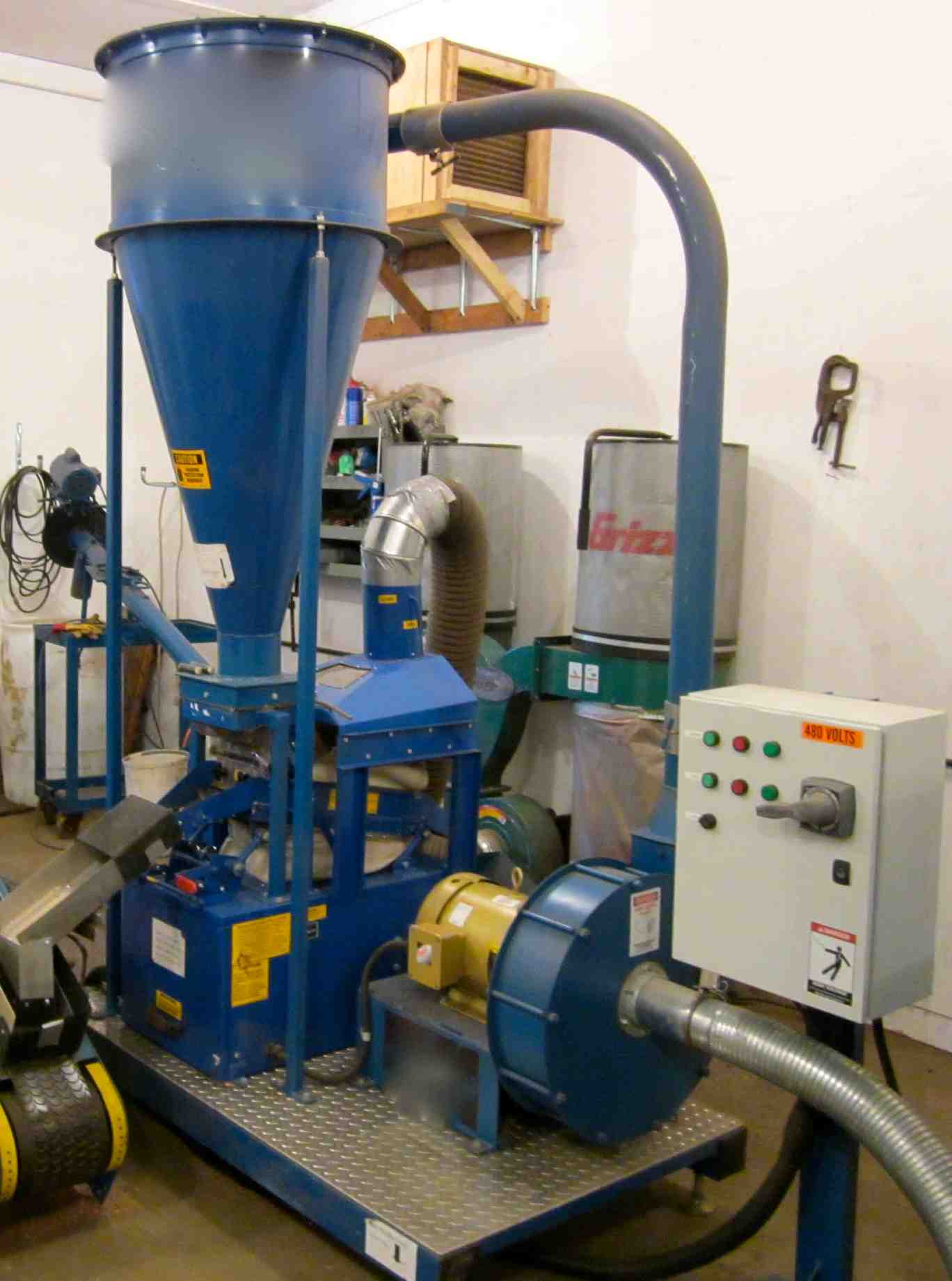 Used Cougar Copper Separator System Alan Ross Machinery