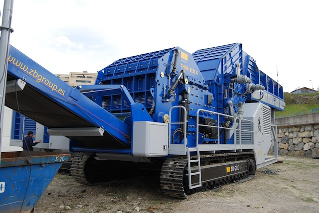 Zb Model Thor 2121 K New Mobile Hammermill Shredder Alan