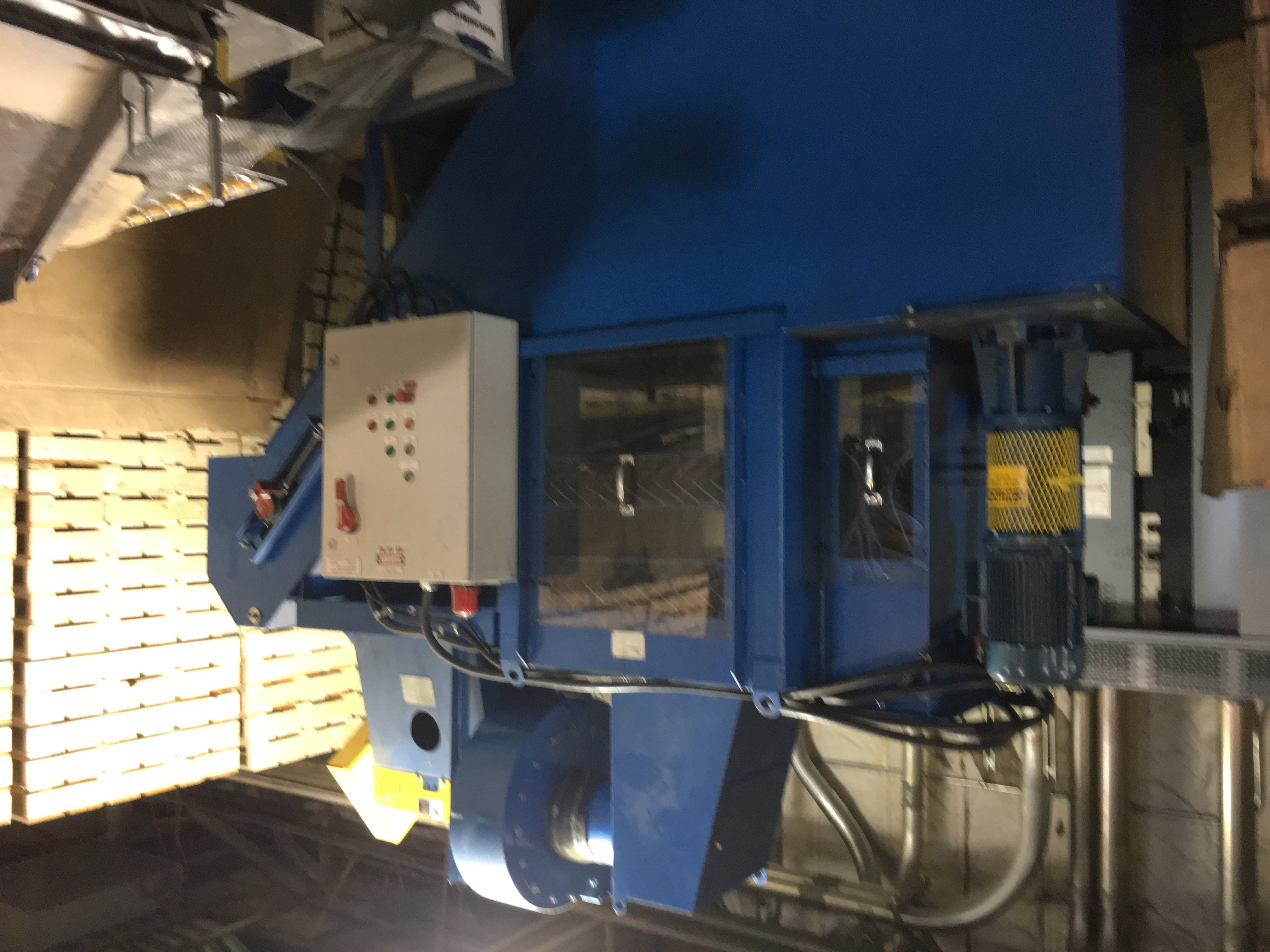 Used Wet Air Scrubber System Wet Dust Collector Alan