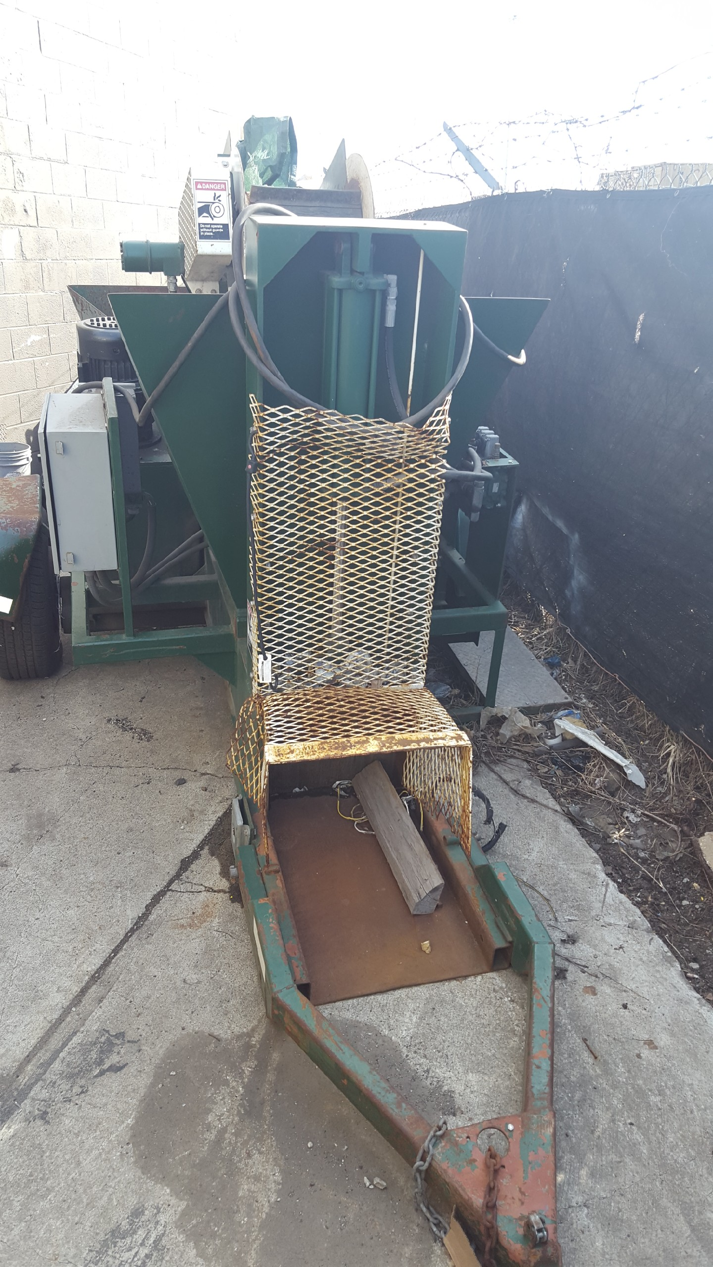 Model Rd 16 Taylor Used Aluminum Used Can Densifier Alan