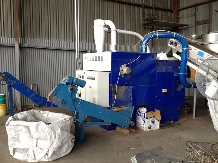 Guidetti Used Compact Wire Chopping System Alan Ross
