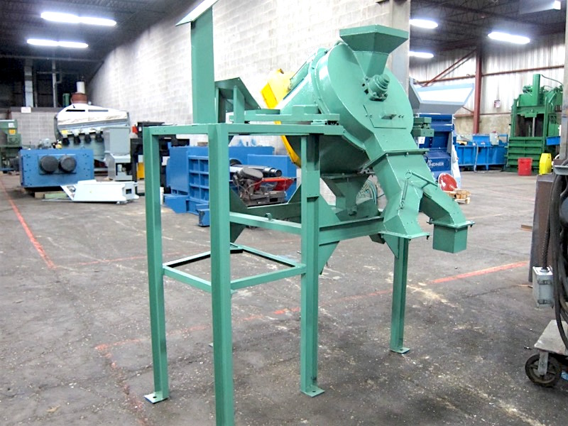 Scrap Tech St 1800 Used Chip Wringing System Alan Ross