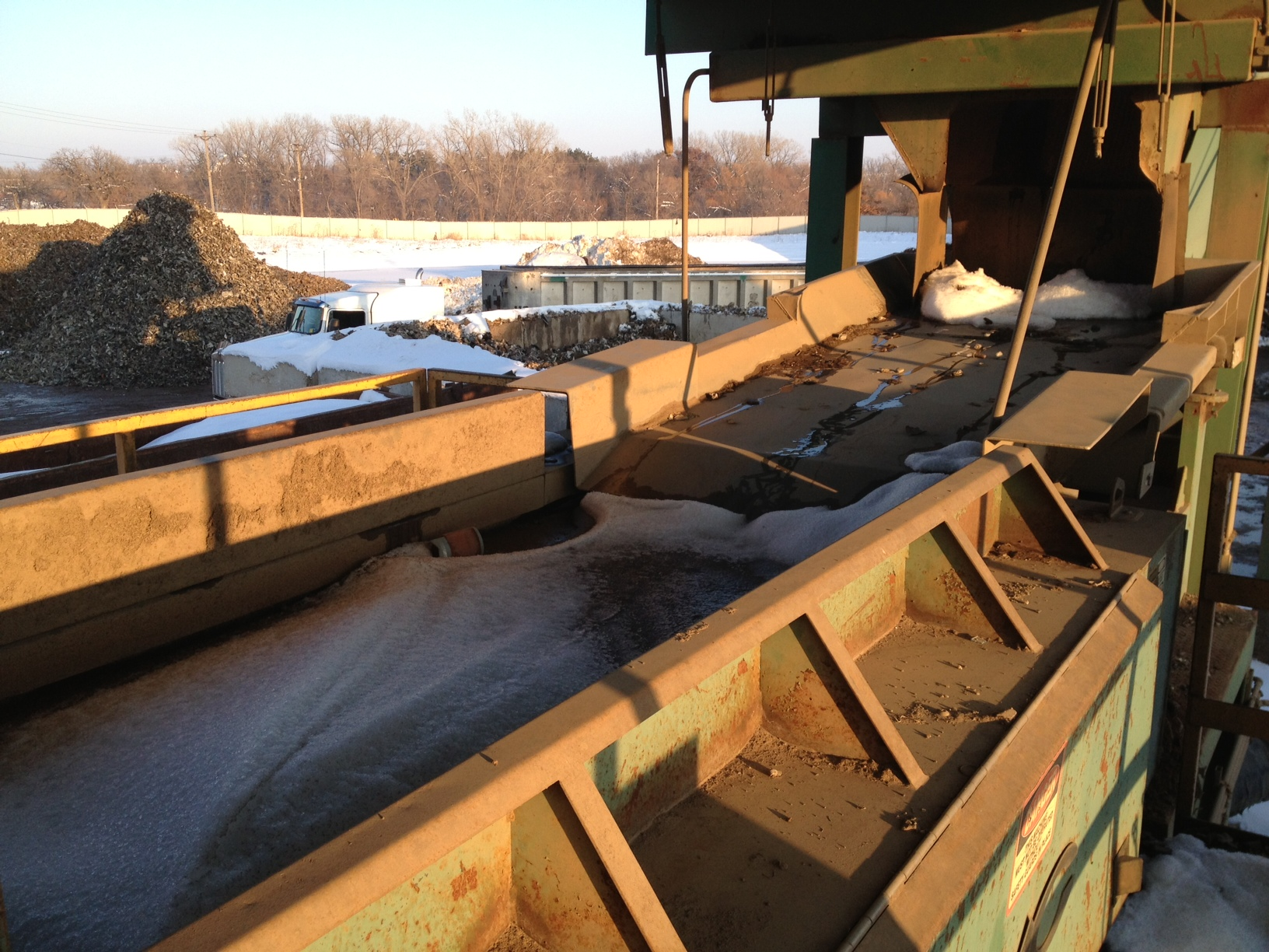Wendt Used Trommel Amp Nf System With Conveyors And 40 Quot Eddy