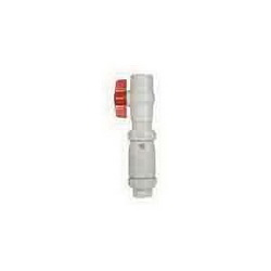 McDonald® 2066S 2 Swing Check Valve and Ball Valve Combo, 2 in, Solvent Weld x Socket, ABS Body, Low Lead Compliance: Yes