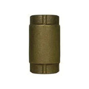 McDonald® 72057T 1/2 Low Pressure Valve Directional In-Line Check Valve, 1/2 in, FNPT, 200 lb WOG, 25.1 gpm, Bronze Body, Low Lead Compliance: Yes