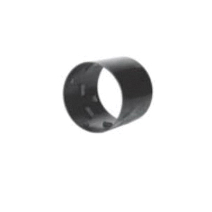 ADS® 0312AA External Snap Coupler, For Use With Single Wall Corrugated Pipe, Polyethylene