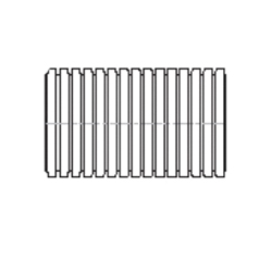 ADS® 0373010 Perforated Highway Corrugated Flex Tubing With Regular Filter Sock, 3 in Dia x 100 ft L, Polyethylene
