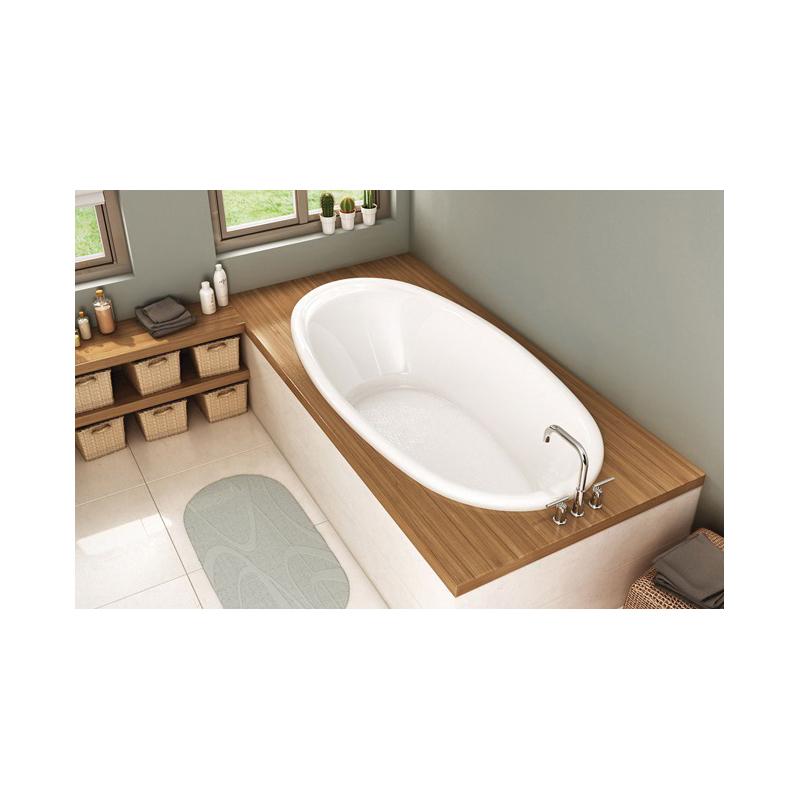 Consolidated Supply Co. | MAAX® 106167 Saturna™ 6036 Bathtub, Oval ...