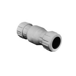American Granby™ FLO CONTROL® 1500-20 Swing Check Valve, 2 in, Compression, PVC Body, Low Lead Compliance: Yes