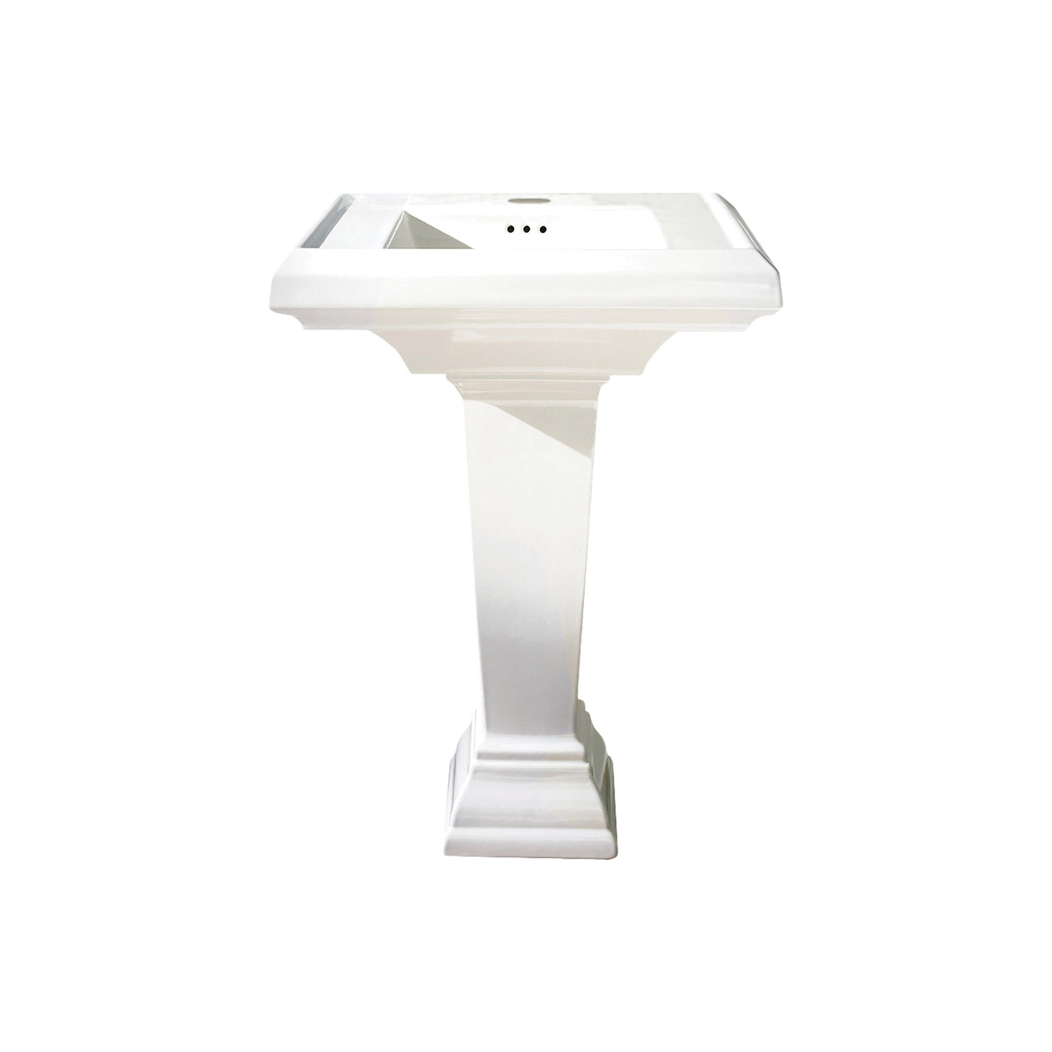 American Standard 0031.000.222 Pedestal, Vitreous China, Import
