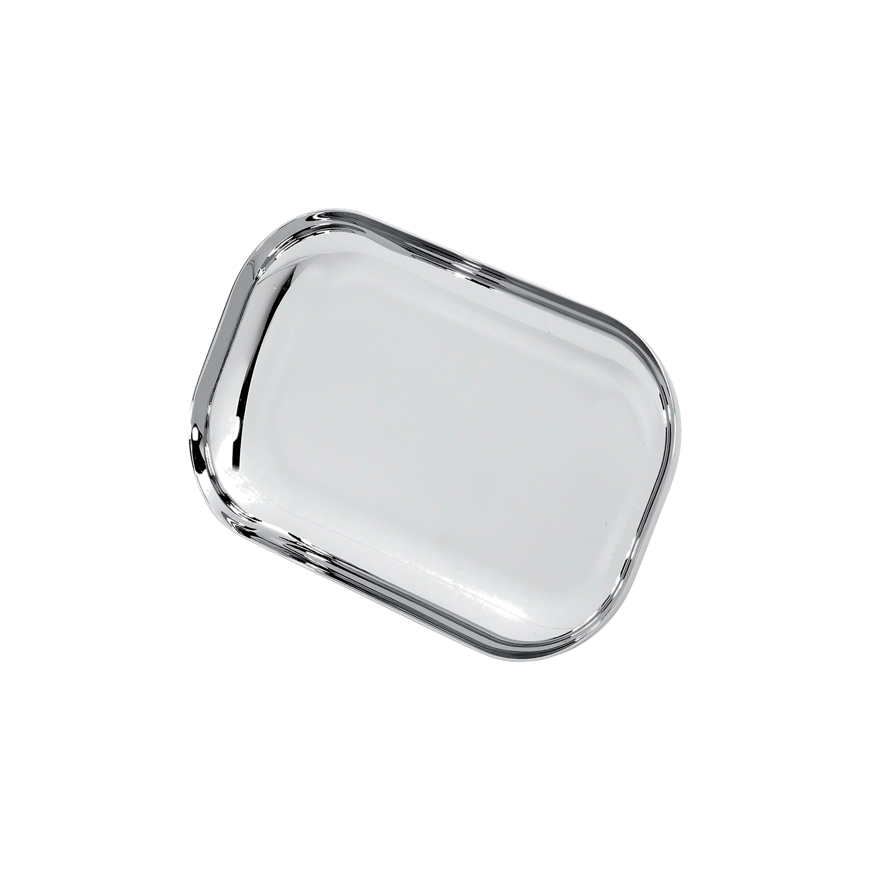 American Standard 012263-0020A Soap Dish, 5 in W x 2.9 in H, Polished Chrome, Import