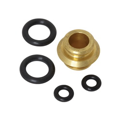 American Standard 030278-0070A Transfer Valve Seal Kit, 0.6 in ID x 0.6 in OD, For Use With Town Square® Model 2555.920/2555.921 Deck Mount Bath Filler, Import