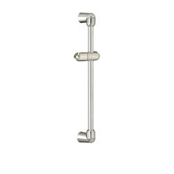 American Standard 1660225.295 Standard Slide Bar, 25 in OAL, Satin Nickel, Import
