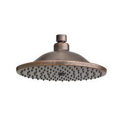 American Standard 1660610.224 Traditional Showerhead Only, 2.5 gpm, 1 Spray, Ceiling Mount, 10 in Dia Head, Import