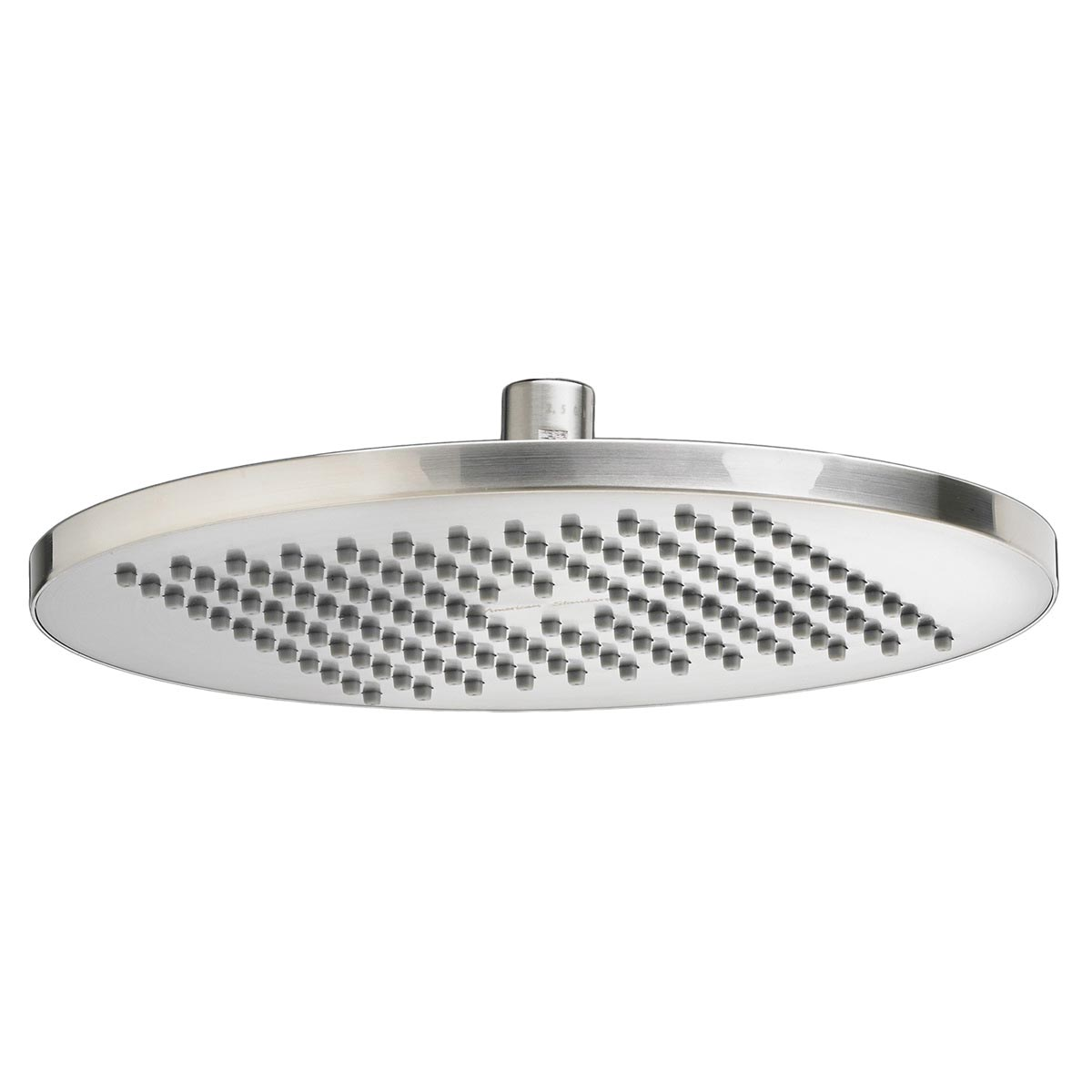 American Standard 1660683.295 Modern Showerhead Only, 2.5 gpm, 1 Spray, Ceiling Mount, 10 in Dia Head, Import