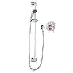 American Standard 1662221.002 FloWise® Shower System Kit, 2.5 gpm, Polished Chrome, Import