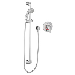 American Standard 1662SG211.002 FloWise® Shower System Kit, 1.5 gpm, Polished Chrome, Import