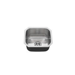 American Standard 18SB.9181600S.075 Portsmouth® Single Bowl Sink With Drain, 18 in L x 16 in W x 9 in H, Import