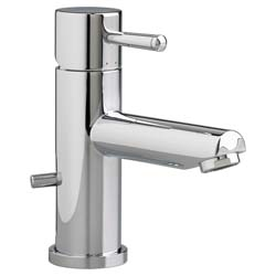 American Standard 2064101.002 Serin® Monoblock Single Control Lavatory Faucet, 1.2 gpm, 3-1/8 in H Spout, 1 Handle, Speed Connect® Pop-Up Drain, 1 Faucet Hole, Polished Chrome, Import