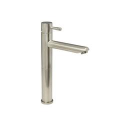 American Standard 2064.152.295 Serin® Monoblock Single Control Vessel Bathroom Faucet, 1.2 gpm, 9-1/8 in H Spout, 1 Handle, Grid Drain, PVD Satin Nickel, Import