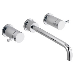 American Standard 2064451.002 Serin® Lead Free Widespread Bathroom Faucet, 1.2 gpm, 8 in Center, Polished Chrome