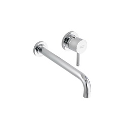 American Standard 2064461.002 Serin® Lead Free Bathroom Faucet, 1.2 gpm, 4 in Center, Polished Chrome, 1 Handles, Import