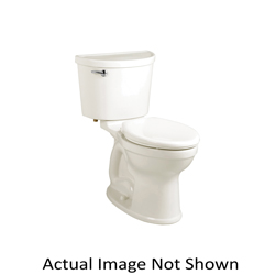 American Standard 211AA004.021 Champion® Pro™ 2-Piece Toilet Without Seat, Right Height® Elongated Bowl, 16-1/2 in H Rim, 1.6 gpf, Bone, Import