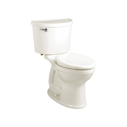 American Standard 211AA005.020 Champion® Pro™ 2-Piece Toilet With Right Hand Trip Lever, Right Height® Elongated Bowl, 16-1/2 in H Rim, 1.6 gpf, White, Import