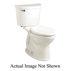 American Standard 211AA004.222 Champion® Pro Right Height™ 2-Piece Toilet, Elongated Bowl, 16-1/2 in H Rim, 1.6 gpf, Linen, Import