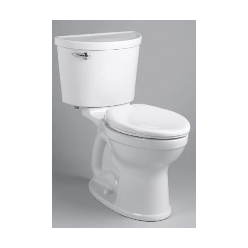 American Standard 211AA104.021 Champion® Pro™ Right Height® Two-Piece Toilet, Elongated Bowl, 16-1/2 in H Rim, 1.28 gpf, Bone, Domestic