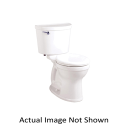 American Standard 211BA004.021 Champion® Pro™ 2-Piece Toilet Without Seat, Right Height® Round Front Bowl, 16-1/2 in H Rim, 1.6 gpf, Bone, Import