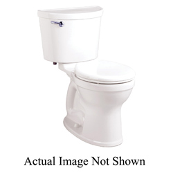American Standard 211BA104.021 Champion® Pro Right Height™ 2-Piece Toilet, Round Front Bowl, 16-1/2 in H Rim, 1.28 gpf, Bone, Domestic