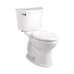 American Standard 211CA004.020 Champion® Pro™ 2-Piece Toilet, Elongated Bowl, 15 in H Rim, 1.6 gpf, White, Import