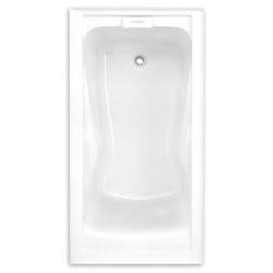 American Standard 2425V-LHO002.020 Evolution™ High Gross Bathtub, Soaking, Rectangular, 60 in L x 32 in W, Left Hand Drain, White, Domestic