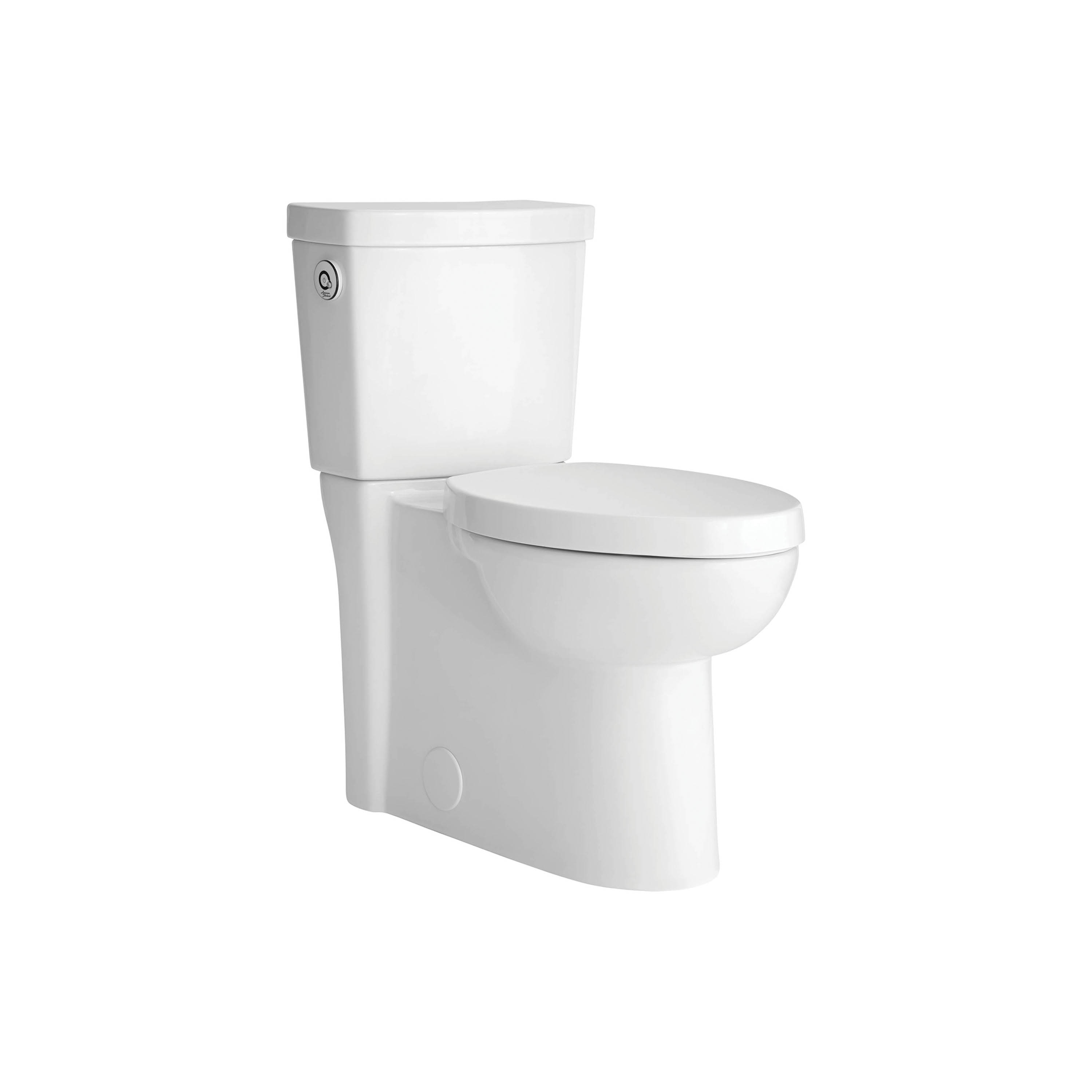 American Standard 2794119.020 Studio™ Activate™ Luxury Performance Concealed Trapway Toilet, Right Height® Elongated Bowl, 16-1/2 in H Rim, 1.28 gpf, White, Import