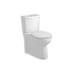 American Standard 2794204.020 Studio™ Luxury Performance Concealed Trapway Toilet, Right Height® Elongated Bowl, 16-1/2 in H Rim, 1.1/1.6 gpf, White, Domestic