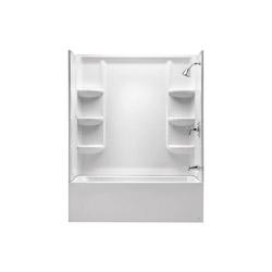 American Standard 2946BW.011 Studio® Bathtub Wall Set, 60 in L x 32 in W x 58 in H, Acrylic, Domestic
