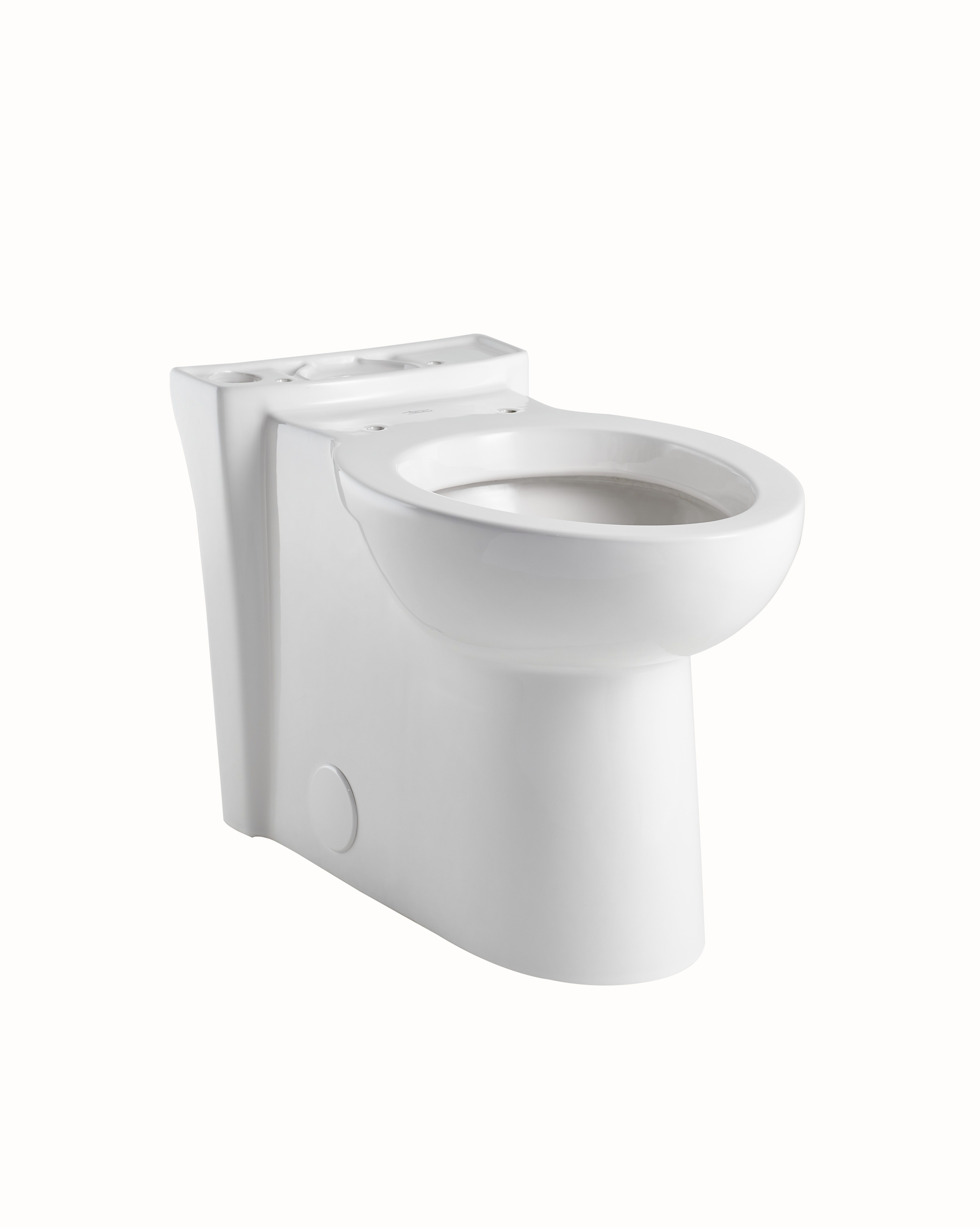 American Standard 3075.000.020 Cadet® 3 Right Height™ Toilet Bowl, Elongated, 8 x 9 in Water Surface, 16-1/2 in H Rim, Import
