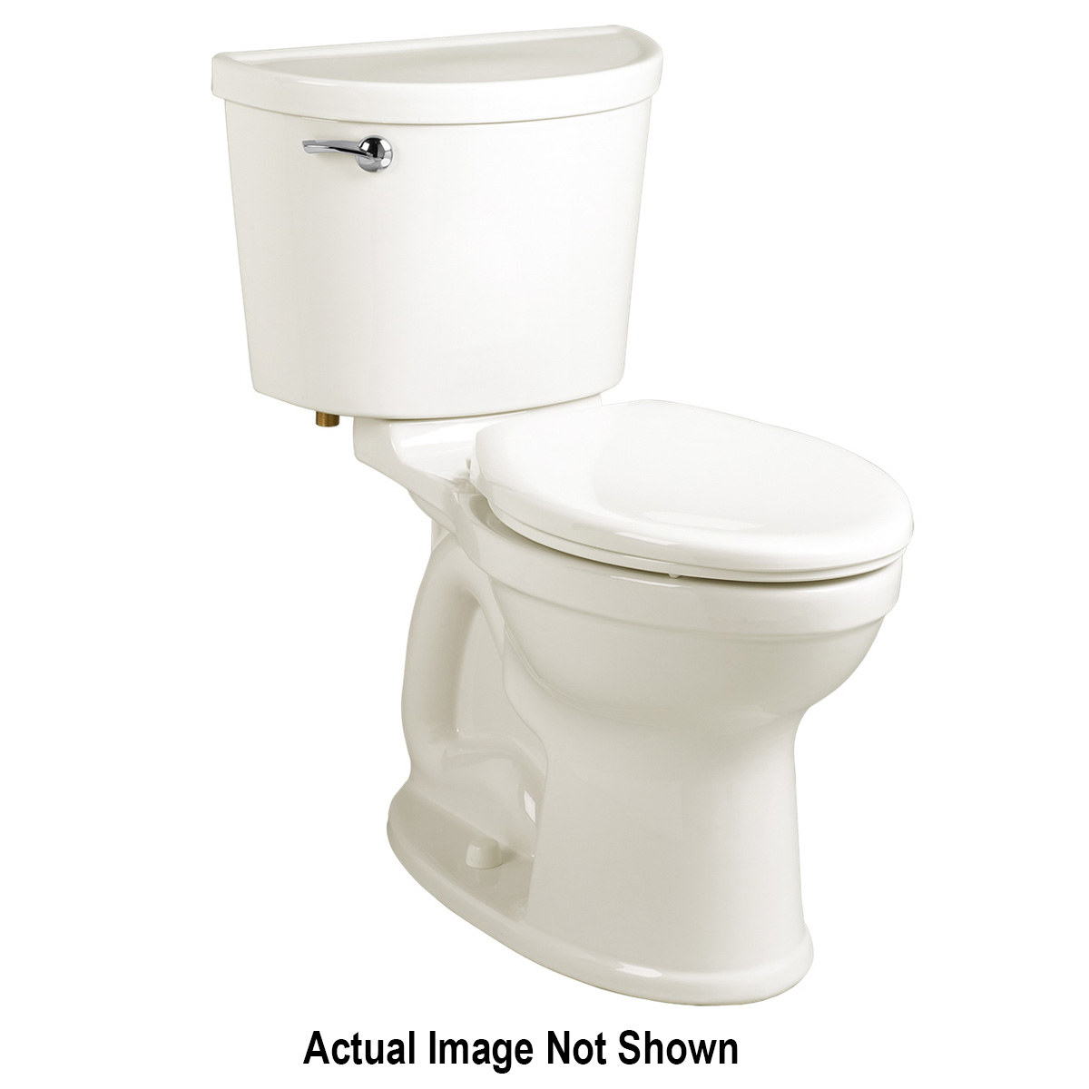 American Standard 3195A101.020 Champion® Pro™ Right Height™ Toilet Bowl, Elongated, 8 x 9 in Water Surface, 16-1/2 in H Rim, 2-3/8 in Trapway, Import