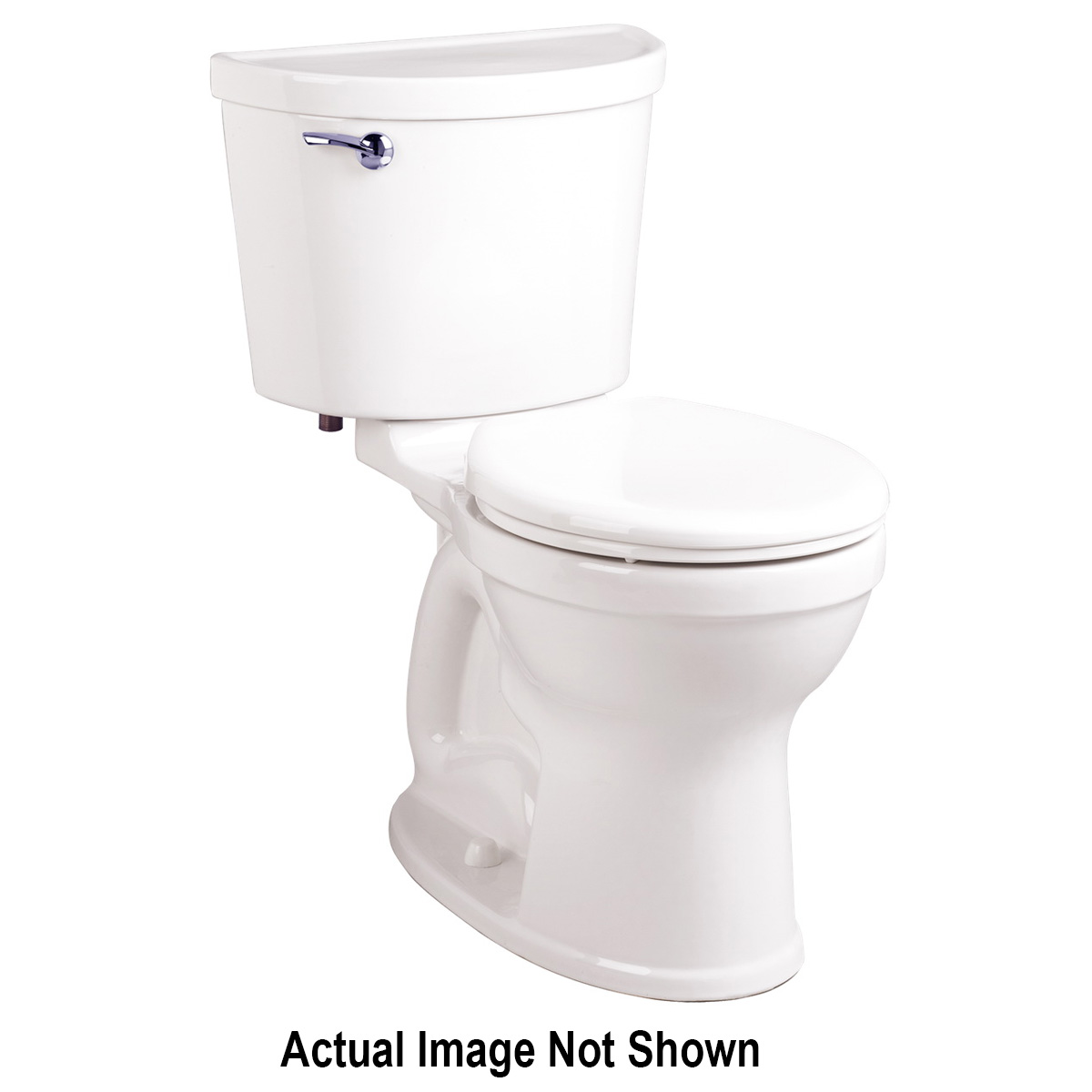 American Standard 3195B101.020 Champion® Pro™ Right Height™ Toilet Bowl, Round Front, 8 x 9 in Water Surface, 16-1/2 in H Rim, 2-3/8 in Trapway, Import