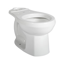 American Standard 3251D101.020 Colony® Toilet Bowl, Round Front, 8 x 9 in Water Surface, 2 in Trapway, Import
