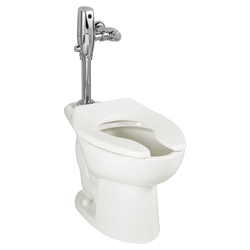 American Standard 3451.001.020 Madera™ FloWise® Toilet Bowl, Elongated, 10 x 12 in Water Surface, 15 in H Rim, 2-1/8 in Trapway, Import
