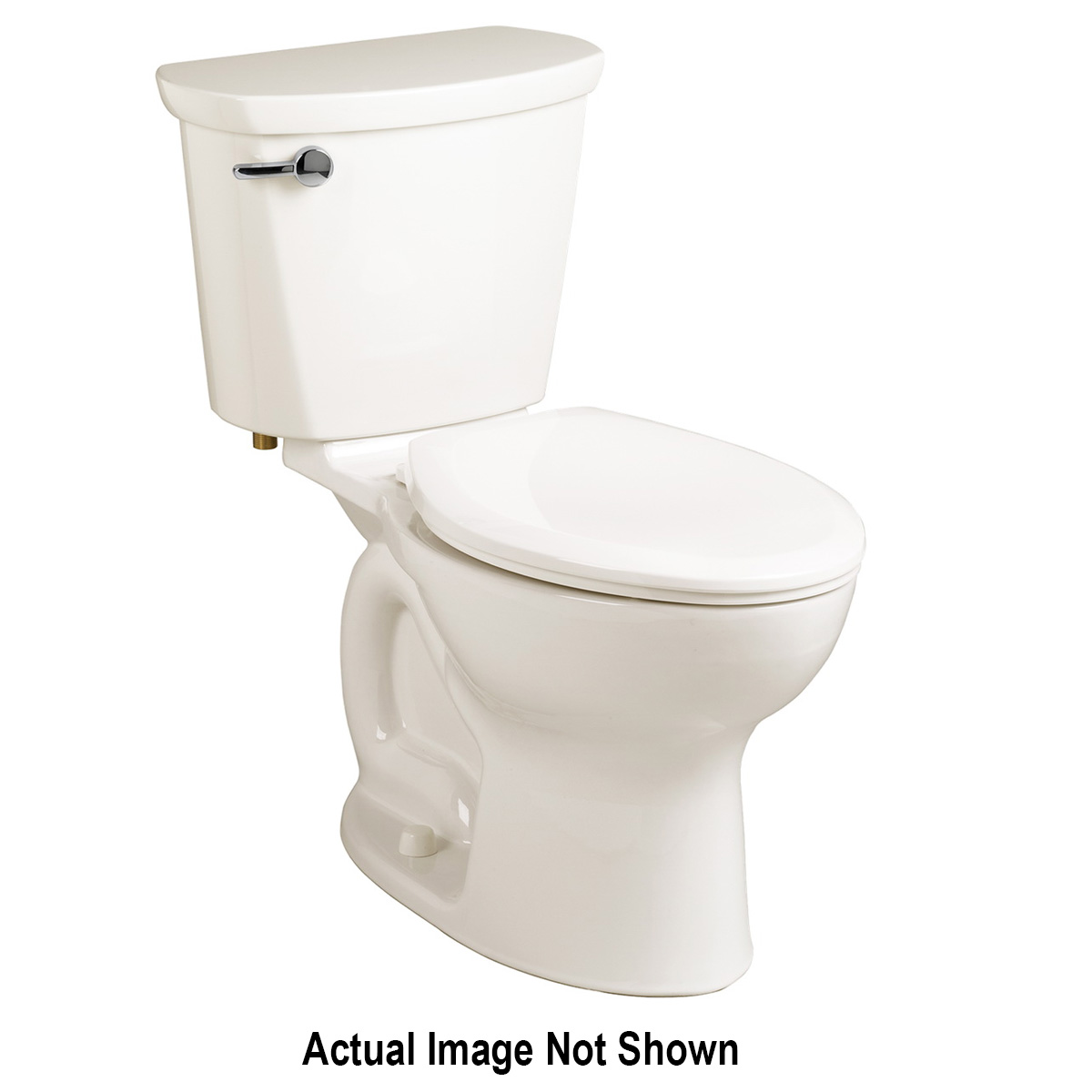 American Standard 3517C101.020 Cadet® Pro™ Toilet Bowl, Elongated, 8 x 9 in Water Surface, 2-1/8 in Trapway, Import