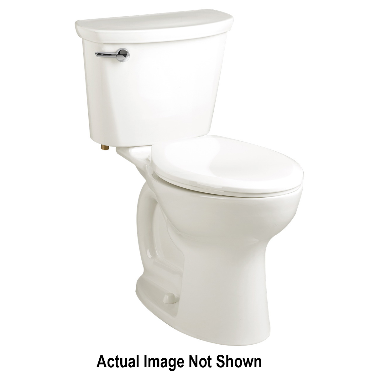 American Standard 3517F101.020 Cadet® Pro™ Right Height™ Toilet Bowl, Elongated, 8 x 9 in Water Surface, 16-1/2 in H Rim, 2-1/8 in Trapway, Import